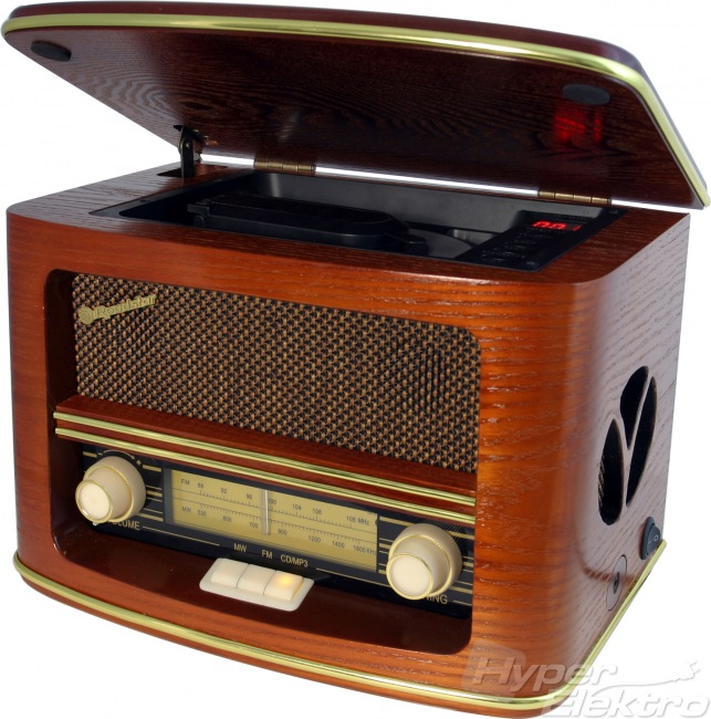 Retro rádio Roadstar HRA-1500 MP