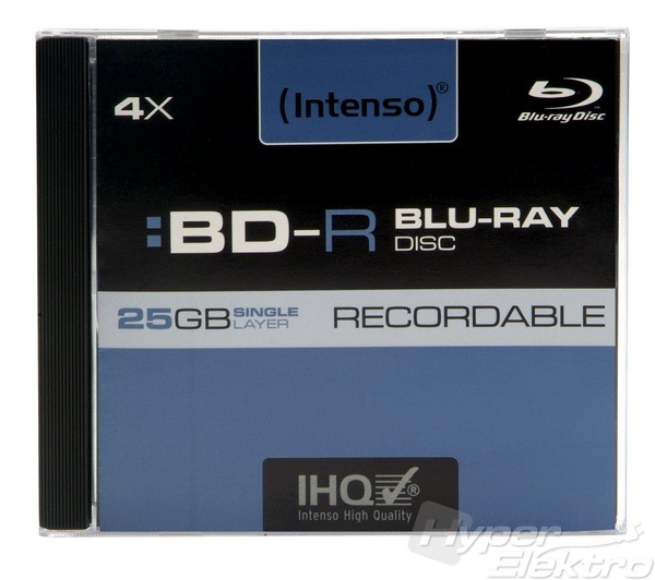 INTENSO Blu-Ray R jewel box
