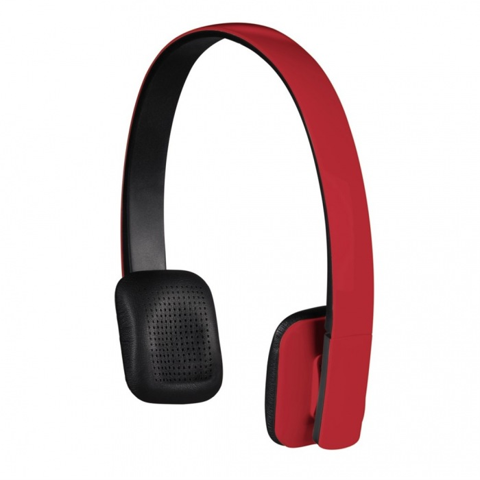 Bluetooth stereo headset Drift, červený