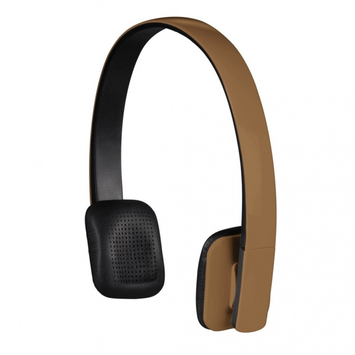 Bluetooth stereo headset Drift, hnědý