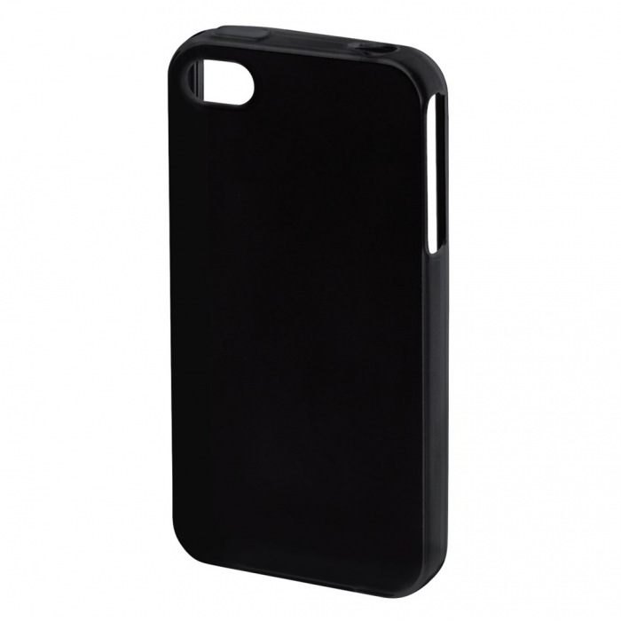 Crystal Cover for Apple iPhone 4/4s, black
