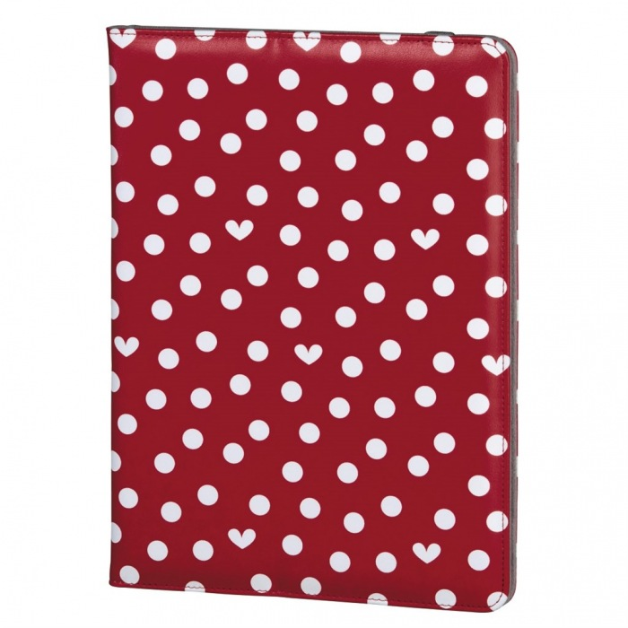 "ELLE Hearts and Dots obal na tablet do 25,6 cm (10,1""), s funkcí stojanu"