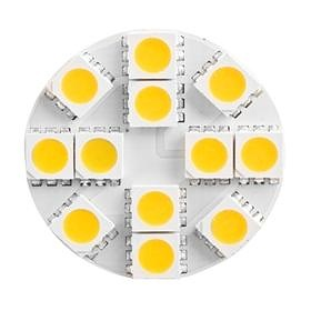 LED žárovka G4/12 LED SMD 5050 (12V-AC/DC)