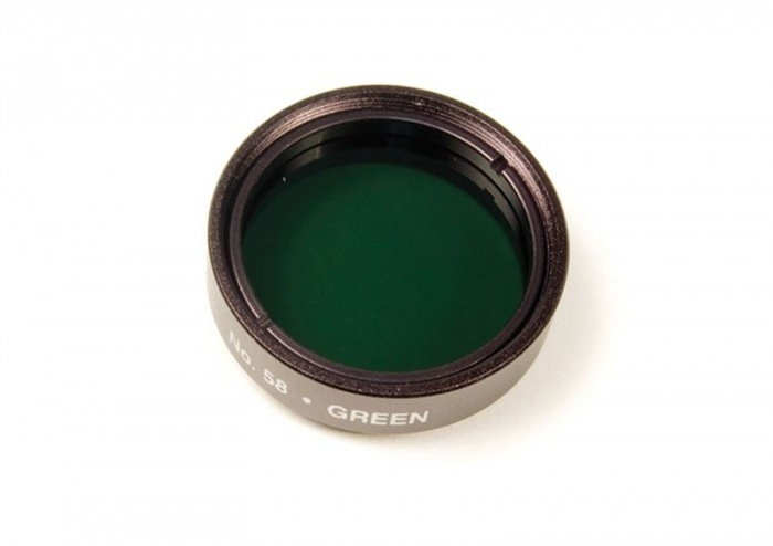 Levenhuk color filter green NO58, 1.25""