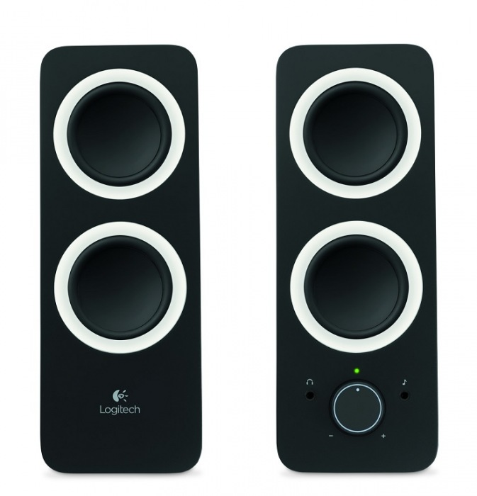 Logitech z200 Multimedia Speakers/ 2.0/ 10W/ Jack 3.5mm/ Midnight black-černý