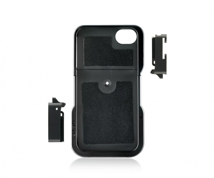 Manfrotto KLYP iPhone case, stativový obal na iPhone 4/4S