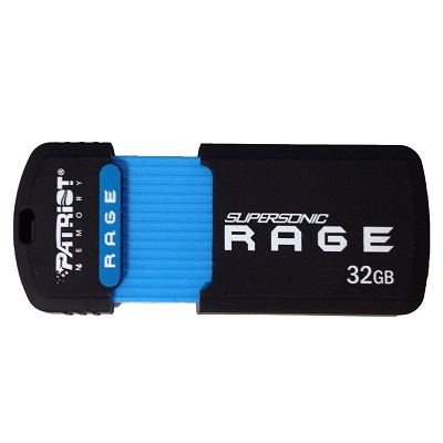Patriot USB 3.0 disk Supersonic Rage 32GB černý RAMX2120