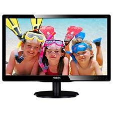 "PHILIPS 24"" LED 246V5LSB/ 16:9 1920x1080/ 10.000.000:1/ 5ms/ D-SUB/ DVI/ černý"