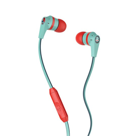 Skullcandy INKD 2.0 Paul Frank Turquoise/Red Mic1