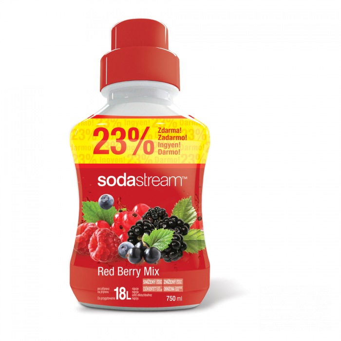 SODASTREAM Sirup Red Berry 750ml
