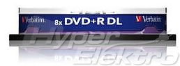Verbatim DVD+R Double Layer 8,5GB, 8x,/ 10ticake/