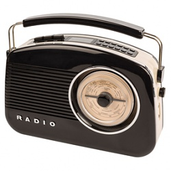 Retro rádio s technologií DAB+