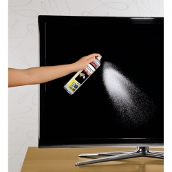 LCD/Plasma Foam Cleaner incl. microfibre cloth