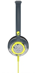 Skullcandy LOWRIDER 2.0 Grey/Hot Lime Mic1