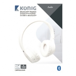Bluetooth® headset, 4.0, bílý