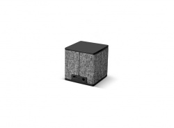 FRESH ´N REBEL Rockbox Cube Fabriq Edition Bluetooth reproduktor, šedý