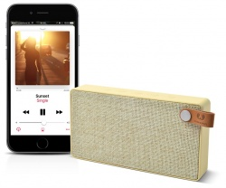 FRESH ´N REBEL Rockbox Slice Fabriq Edition Bluetooth reproduktor, Buttercup, světle žlutý