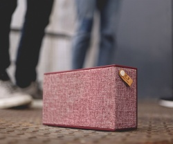 FRESH ´N REBEL Rockbox Chunk Fabriq Edition Bluetooth reproduktor, Ruby, rubínově červený