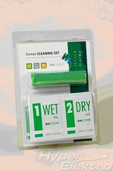 DN1101, Screen CLEANING SET (20 čisticích utěrek + D-WIPES 15x15cm)