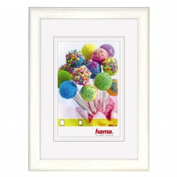 Hama Candy Wooden Frame, white, 40 x 50 cm