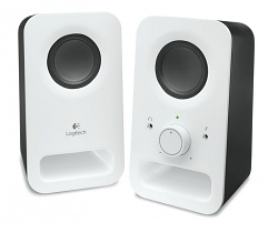 Logitech z150 Multimedia Speakers/ 2.0/ 2x 1.5W/ Jack 3.5mm/ Snow White-bílý