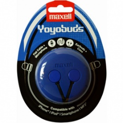 MAXELL 303728 YOYO BUDS BLUE+BLACK