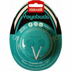 MAXELL 303730 YOYO BUDS GREEN+WHITE