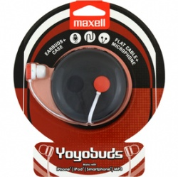 MAXELL 303744 YOYO BUDS RED+BLACK