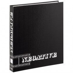 Negative Ringbinder Album, Black
