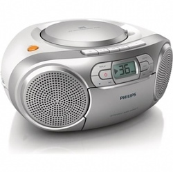PHILIPS AZ127/12 radiomagnetofon s CD