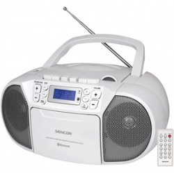 SENCOR SPT 3907 W RADIO S CD/USB/BT/KAZE