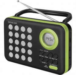 SENCOR SRD 220 BGN RÁDIO S USB/MP3