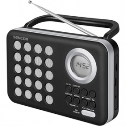SENCOR SRD 220 BS RÁDIO S USB/MP3