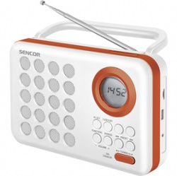 SENCOR SRD 220 WOR RÁDIO S USB/MP3