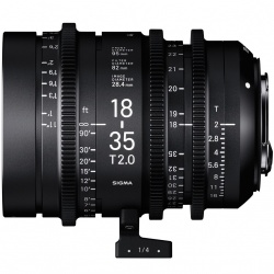 SIGMA CINE 18-35mm T2 EF mount - Canon