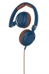 Skullcandy LOWRIDER 2.0 Navy/Brown Mic1