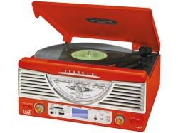 Trevi TT 1062/RED Retro mus. system MP3/SD/USB