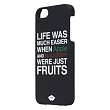 Phone case rubberized for iPhone 5s/5 black