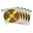 CD/DVD Double Protective Sleeves,Pack of 50 Pcs., White