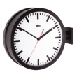 Double-sided wall clock 38 cm
