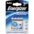 ENERGIZER BAT ULTIMATE LITH FR03/4 4xAAA ENERGIZER