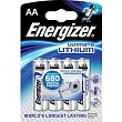 ENERGIZER BAT ULTIMATE LITH FR6/4  4xAA