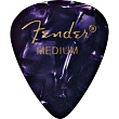 FENDER 098-0351-876 Picks Purple Moto, Medium