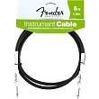 FENDER 099-0820-004 Instrument Cable,5',Black