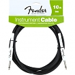 FENDER 099-0820-005 Instrument Cable,10',Black