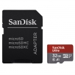 SanDisk Ultra microSDHC 32 GB 98 MB/s A1 Class 10 UHS-I, Android, Adaptér