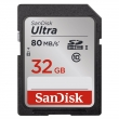 Sandisk Ultra SDHC 32 GB 80 MB/s Class 10 UHS-I (SDSDUNC-032G-GN6IN)