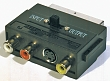 SCART-3CINCH+SVHS adaptér