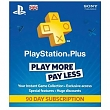 SONY PS Plus card 90 dní