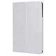 Tablet case pu leather for iPad mini retina & iPad mini white